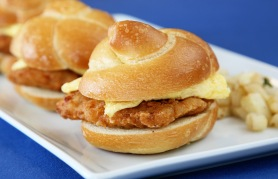 All American Breakfast Chicken Slider