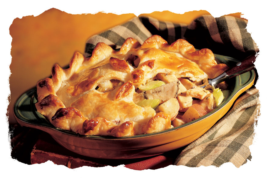 Herb Roasted Turkey Pot Pie