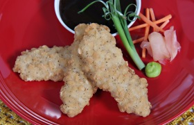 Peking Chicken Tenders with Hoisin Sauce