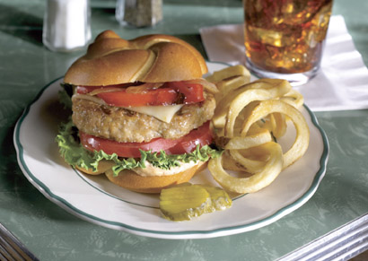 Pepper, Pepper, Pepper Turkey Burger