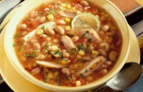 Santa Fe Chicken Soup