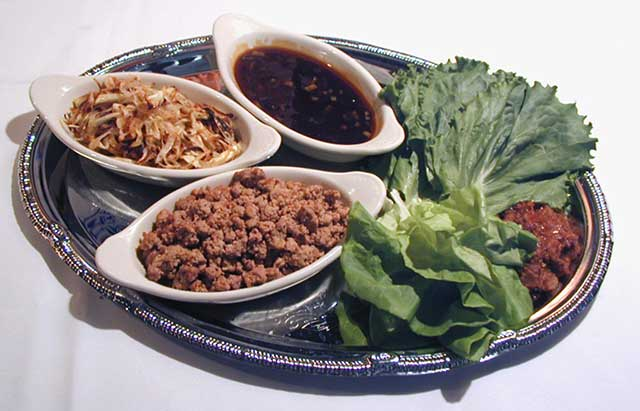Thai Style Spicy Turkey Lettuce Wraps