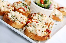 Turkey Bruschetta