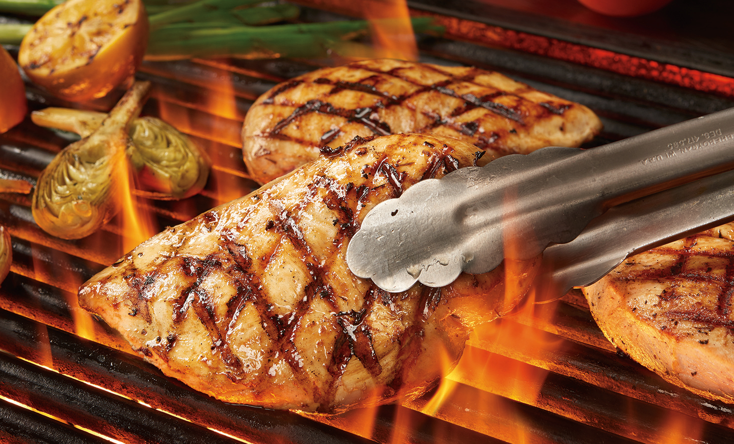 HARVESTLAND® Organic Grilled Chicken Breast with Grilled Lemon and Fire-Roasted Artichoke Hearts